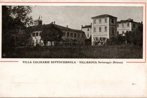 Villa Caligaris Sottocornola – Villanova